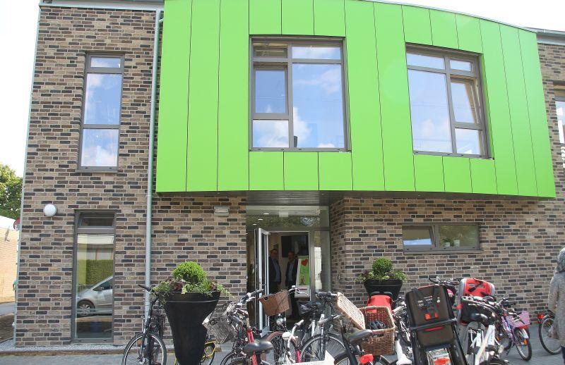 Einweihung und Tag der offenen Tür im neuen Bewegungskindergarten Villa Purzelbaum in Raesfeld