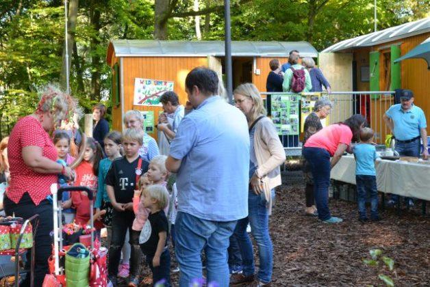 Waldspielplatz Tiergarten Raesfeld Naturpark Hohemark