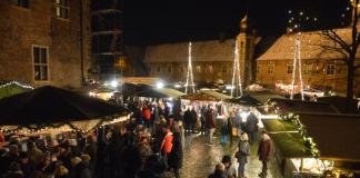 Schnee Adventsmarkt Raesfeld 2016