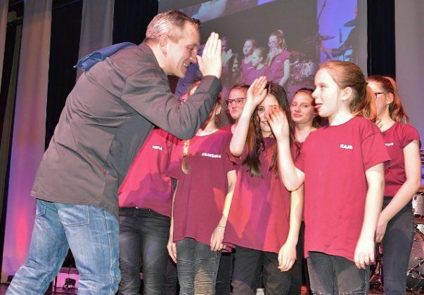 Konzert Nickelmann und Friends 2017 und die Nickel Kids im Vennehof Borken