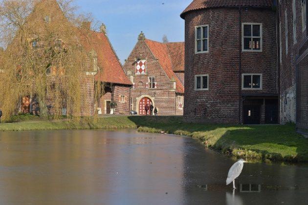 Schloss Raesfeld im Münsterland Naturpark Hohe Mark