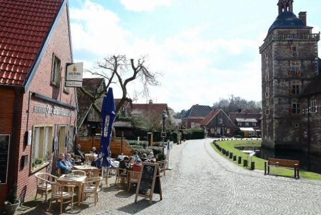 Cafe Restaurant Freiheiter Hof am Schloss raesfeld naturpark Hohemark Münsterland
