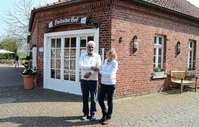 Gurmey Singh und Angelika Wenzel Freiheiter hof