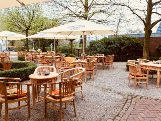 Biergarten Freiheiter Hof Schloss Raesfeld