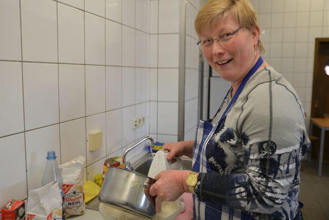 Alleine 14 Liter Milch brauchte Mechthild Gülker