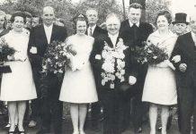 Schützenfest Erle König 1968