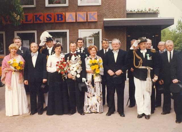 Schützenfest Erle König 1978