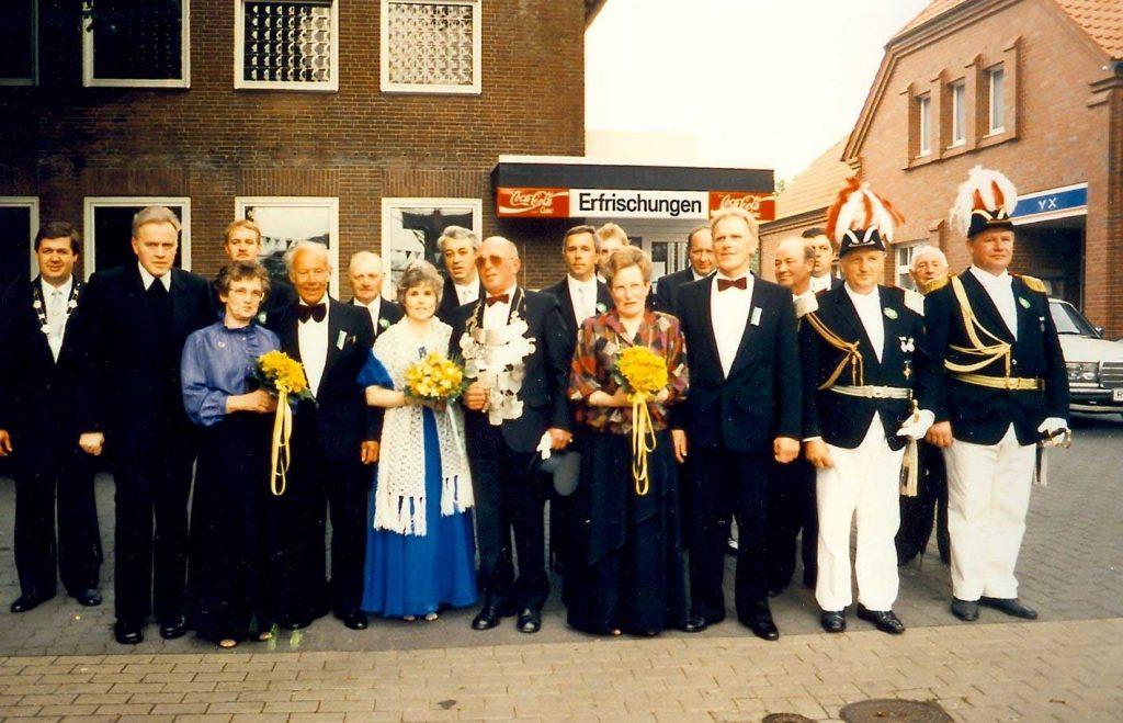 Schützenfest Erle König 1988