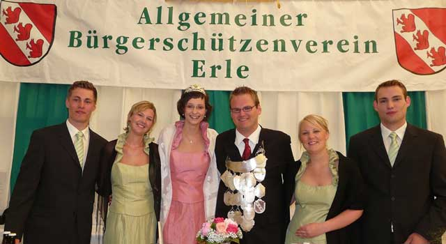 Schützenfest Erle König 2008