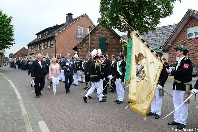 Allgemeiner Bürgerschützenverein Erle Vorparade hat Lust