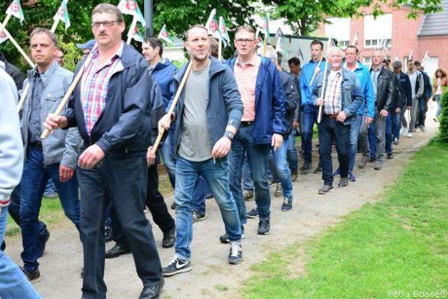 Allgemeiner Bürgerschützenverein Erle Vorparade