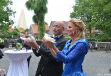 Hochzeit am Schloss Raesfeld mit Flashmob