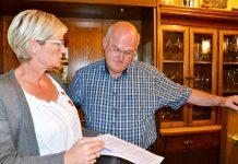Judith Kolschen und Präsident Arno Brömmel