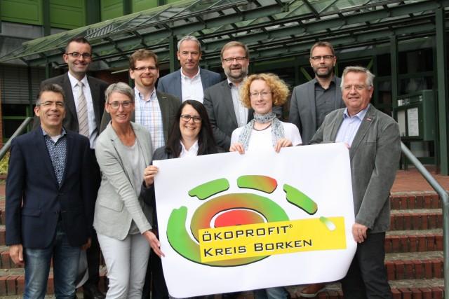 """Der Lenkungskreis steuert die jährlichen Aktivitäten im Rahmen von """"Ökoprofit"""""""