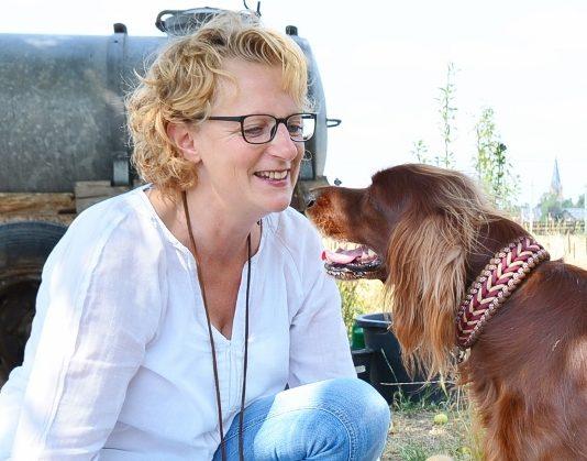 Hundetrainerin Anja Lammersmann