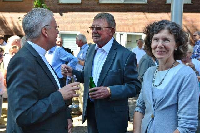 Ihr goldenes Priesterjubiläum feierten am Sonntag Pastor Raimund Uhling und Pastor Johannes Bengfort von der Kirchengemeinde St. Martin in Raesfeld.