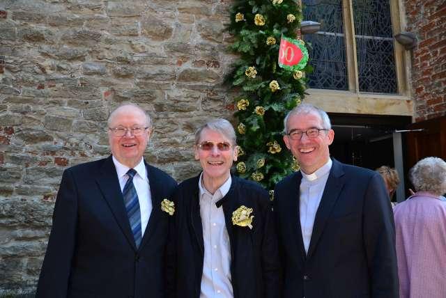 Raimund Uhling und Johannes Bengfort feierten gemeinsam goldenes Priesterjubiläum