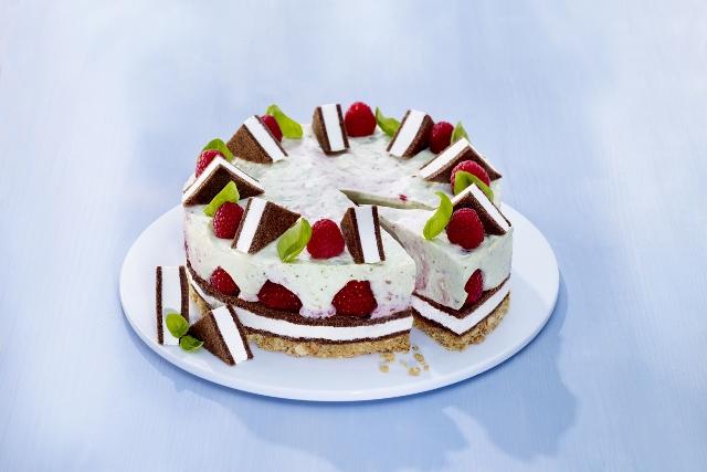 Himbeer Creme Torte