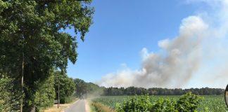 Stoppelfeldbrand Raesfeld 2018 Feuerwehr