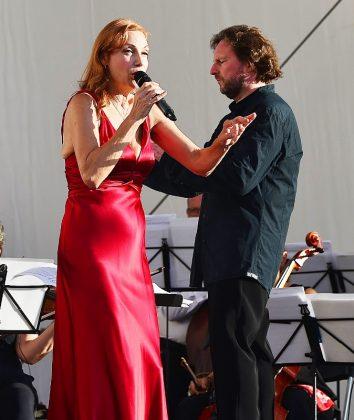 Ute Lemper in Raesfeld - Musiklandschaft