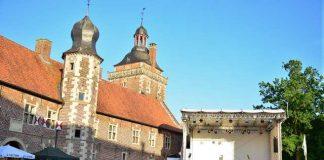 Ute Lemper bei Musiklandschaft Westfalen am Schloss Raesfeld.