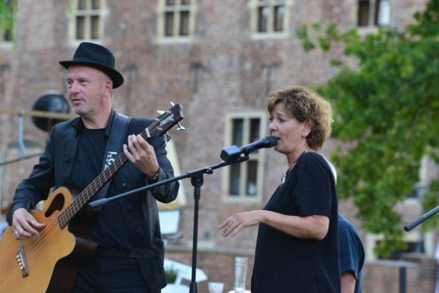 Band LOFX aus Schermbeck am Schloss Raesfeld