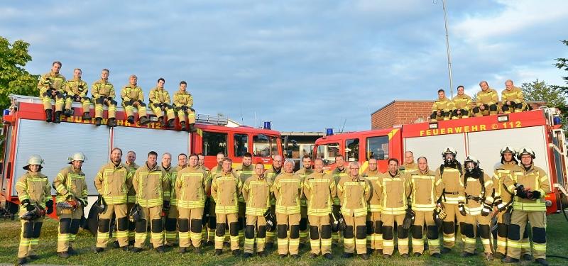 Neue Schutzbekleidung Feuerwehr Raesfeld
