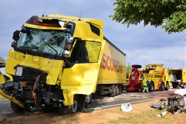 Tödlicher Unfall in Raesfeld Erle