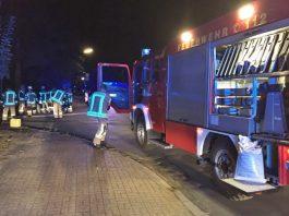 Ölspur Heideweg Feuerwehr