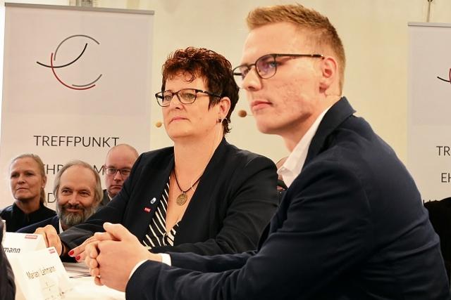 Diskussionsteilnehmerin Tatjana Lanvermann aus Borken