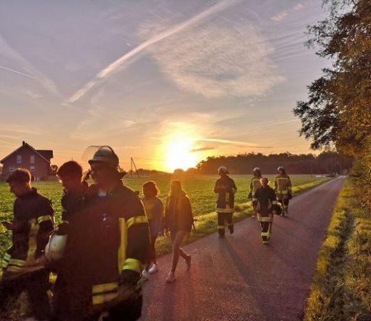 Feuerwehr Raesfeld Blauhelme Kreis Borken