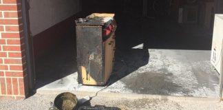 Friteuse brannte