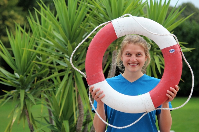 Alena Brömmel Spaßbad heiden