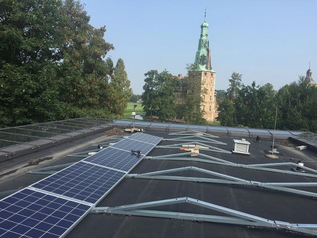 Installation Photovoltaik Naturparkhaus Raesfeld