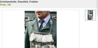 Schützenkette Raesfeld 2018
