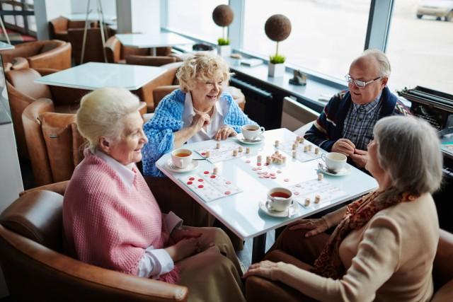 Spielenachmittag im Café Henry im Rotkreuz-Zentrum Borken an der Röntgenstraße 6