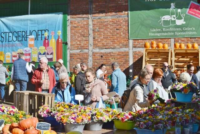 Bauernmarkt Stegerhoff in Erle 2018