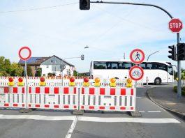 Baustelle Erle B224-Schermbecker Strasse