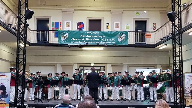 Fanfarencorps Raesfeld in Dorsten