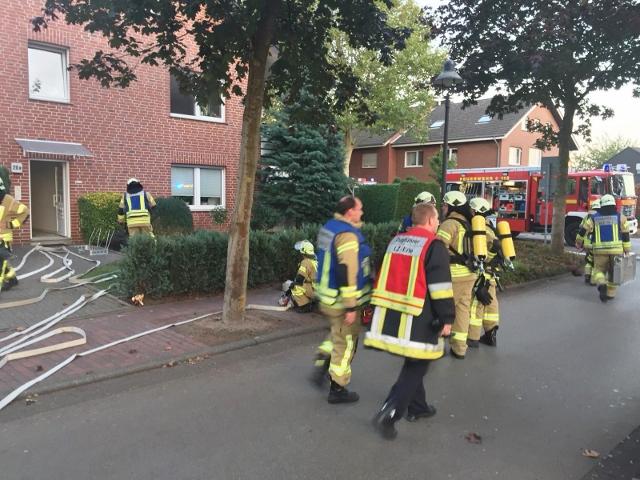 Feuerwehreinsatz Raesfeld wohnungsbrand