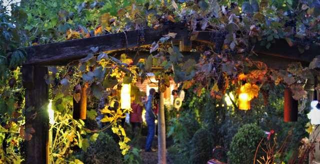 Gartenträume im Naturpark Raesfeld im Herbst