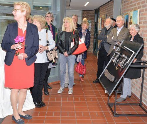 Kunstausstellung dasselbe anders in Raesfeld