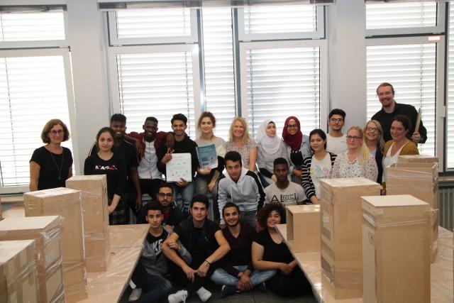 18 Jugendliche der drei kreiseigenen Ahauser Berufskollegs nehmen in der ersten Herbstferienwoche am talentCAMPus teil
