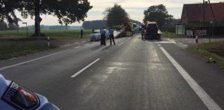 Raesfeld - Schwerer Unfall auf der Weseler Landstraße