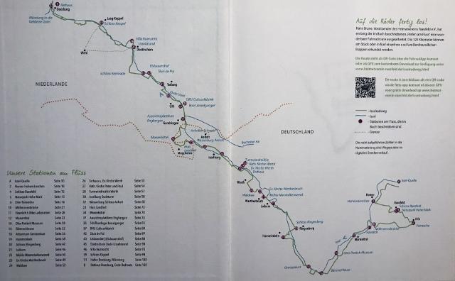 Isselrad von Naturpark Raesfeld bis Doesburg