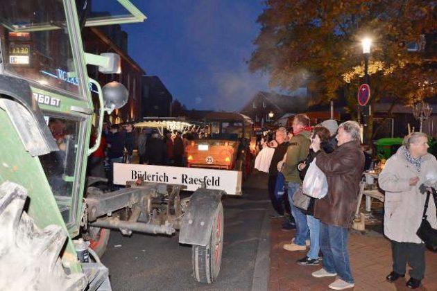 Traditioneller Empfang des Kappestreck aus Büderich