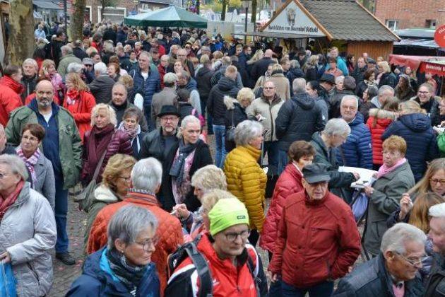 Kappesmarkt Raesfeld Sonntag 2018