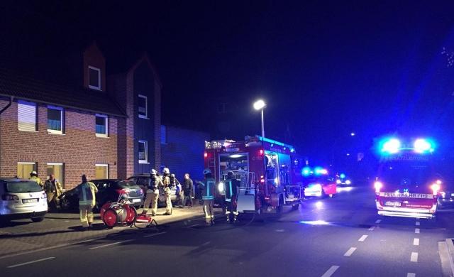 Wohnungsbrand in Raesfeld