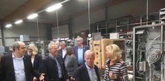 FDP Karlheinz Busen bei Gastrotechnik Ubert Raesfeld
