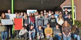 Scheckübergabe Gesamtschule Raesfeld 2018 (